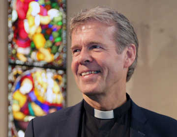 Per Arne Dahl was announced on Wednesday as the successor to retiring Tunsberg Bishop Laila Riksaasen Dahl, who has spent 12 years in the role. PHOTO: Den Norske Kirke