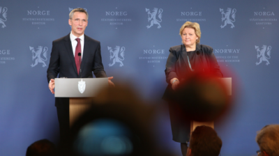 Stoltenberg confirms new job at NATO, Solberg congratulates