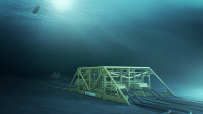 An Aker Solutions subsea field layout, delivered to Statoil's Åsgard development on the Norwegian continental shelf. Under its NOK 14 billion contract with Total, Aker Solutions will provide 20 subsea manifolds and PHOTO: Aker Solutions