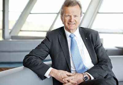 Jon Fredrik Baksaas, the President and CEO of Telenor Group, earned more than NOK 17 million last year when taking into account his salary, bonuses and stock options. The hefty pay packet came despite job cuts across the company, and moves by the government to limit executive salaries in companies it partially owns. PHOTO: Telenor Group