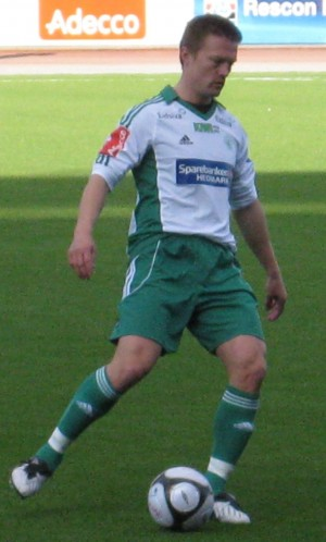 Jørgen Jalland, who now plays and coaches at Norwegian club Ørn-Horten, played top league football in Russia in 2005 and 2006. He and fellow Norwegian player Erik Hagen claimed there was widespread match fixing when they played in Russia, with Hagen saying he personally had to surrender match bonuses to the referee. PHOTO: Wikimedia Commons