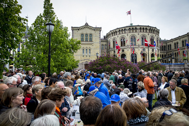 PHOTO: Erlend Aas/NTB Scanpix/Stortinget