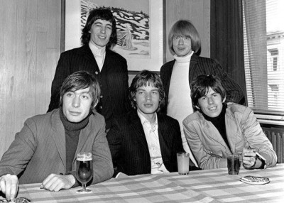 There wasn't any luxury greeting the Rolling Stones in Oslo in 1965, though. Their hotel rooms didn't even have private bathrooms. PHOTO: Arbeiderbevegelsens arkiv og bibliotek via Facebook