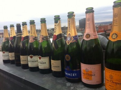 Champagne and sparkling wine consumption tripled in Norway over the last decade. Sales of bubbly beverages peak around the May 17 National Day celebrations and New Year's Eve, as well as the June wedding season. PHOTO: Emily Woodgate/newsinenglish.no
