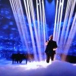 Eurovision singer happy to end 8th