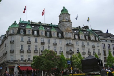 The Grand Café occupied the ground floor location of the Grand Hotel in Oslo since 1874, and was popular with such luminaries as playwright Henrik Ibsen, artist Edvard Munch and many others. It will close on September 1. PHOTO: newsinenglish.no