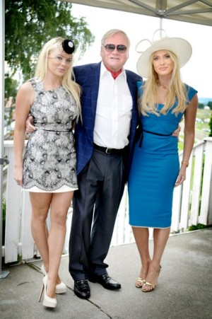 Shipping and salmon tycoon John Fredriksen with his twin daughters Kathrine (left) and Cecilie, who now are working in several of his companies and sitting on their boards of directors. PHOTO: NTB Scanpix/Robert S Eik/VG