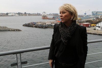 Monica Mæland, Norway's government minister in charge of business and trade, is ultimately responsible for the state's 54 percent stake in Telenor. She called in the company's top officials for a meeting about the corruption suspicions swirling around the company. PHOTO: Nærings- og Fiskeri Departementet