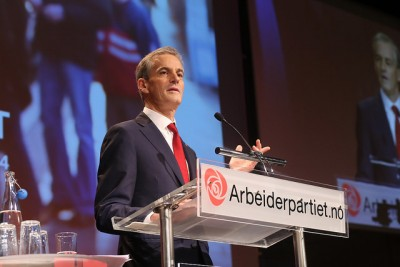 Jonas Gahr Støre is off to a flying start as Labour's new leader, with the party now scoring its highest level of voter support in nearly 30 years. PHOTO: Arbeiderpartiet Arbeiderpartiet