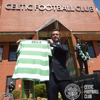 Former professional Norwegian footballer and Strømsgodset coach Ronny Deila was announced as Scottish club Celtic's new manager last week. Deila said his goal was to develop young players and lead Celtic to dominance in the European Champions League. PHOTO: facebook.com/CelticFC