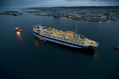 One of Marathon Oil Norway's production vessels, connected to the Alvheim field in the North Sea. Det Norske Oljeselskapet announced on Monday it had bought out Marathon Oil Norway for NOK 12.6 billion. PHOTO: Marathon Oil