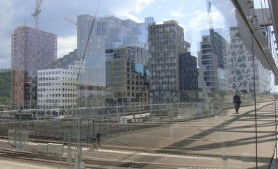 """Norway's urban areas, like here in the new """"Barcode"""" district of Oslo, need more state support than they've received in recent decades. Instead of investing a disproportionate share of state funds in outlying areas, much more infrastructure investment is needed  in Norwegian cities, according to employers' group NHO. PHOTO: newsinenglish.no"""