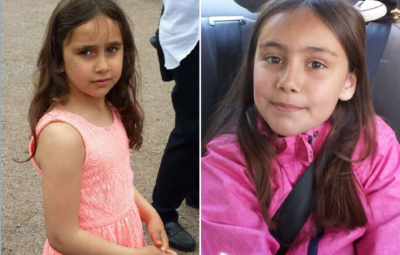 Six-year-old Rajana and eight-year-old Somaja were abducted by two masked men after they got off a school bus in south-eastern Norway on Tuesday afternoon. The girls were originally from Chechnya, and were living with foster parents. PHOTO: twitter.com/HedmarkOPS