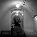 Quisling's bunker under the Bygdøy mansion he took over as his residence during the war has been reopened and can be visited on guided tours.  PHOTO: Holocaust Center/Riksantikvaren