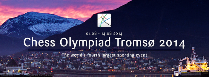 The World Chess Federation (FIDE) threatened to cancel the 41st World Chess Olympiad, two weeks before it was due to begin in Tromsø. FIDE was angry organizers refused entry to several teams that missed the registration deadline, including reigning women's champions Russia. PHOTO: Chess Olympiad Norway 2014