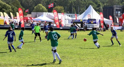 Norway Cup, often ranked as the largest youth football tournament in the world, is underway again in Oslo despite new threats of terror against Norway. PHOTO: Utenriksdepartementet