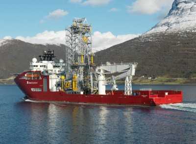 """This vessel, the """"Skandi Aker,"""" has caused problems for Aker Solutions and its value will now be written down by NOK 664 million (USD 110m). PHOTO: Aker Solutions"""