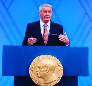Thorbjørn Jagland's future as chairman of the Norwegian Nobel Committee remains in doubt. PHOTO: newsinenglish.no