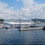 Fewer cruiseships call at Oslo
