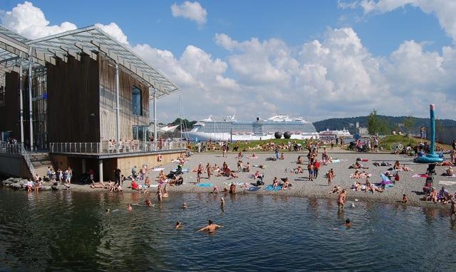 Summer, Tjuvholmen, cruise