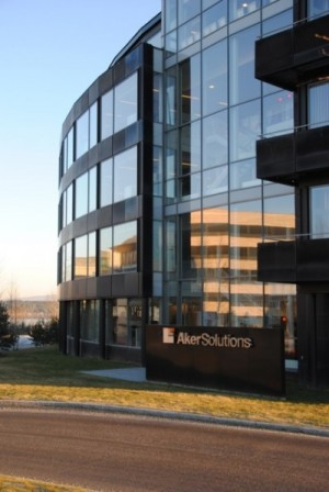 The engineer was arrested at Aker Solutions offices at Fornebu, outside Oslo. PHOTO: newsinenglish.no
