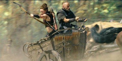 """Norwegians Ingrid Bolsø Berdal and Aksel Hennie have won good reviews for their work in the new Hollywood film """"Hercules - The Thracian Wars."""" PHOTO: Filmweb"""
