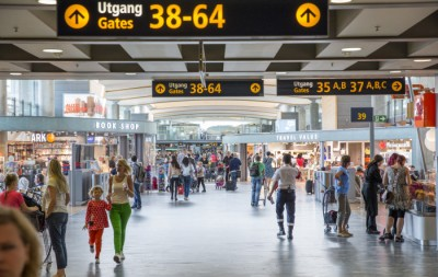 Traffic through Oslo's main airport at Gardermoen continues to soar, as does holiday spending by Norwegians. PHOTO: Oslo Lufthavn
