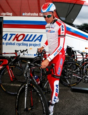 Norwegian cyclist Alexander Kristoff has been training in England this week as he gears up to ride in the Tour de France for Russian team Katusha. He'll be the only Norwegian in the race this year. PHOTO: Cornelius Poppe / NTB Scanpix