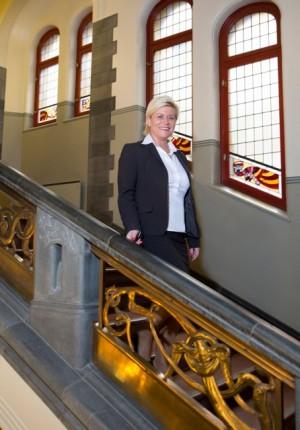 Finance Minister Siv Jensen has been busy preparing her government's first state budget. PHOTO: Finansdepartementet