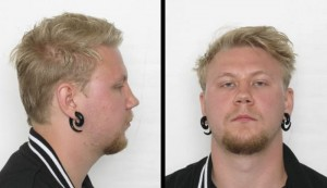 Police issued this photo of the murder suspect, but warned the public against having contact with him. PHOTO: Politiet