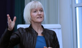 """Ragnhild Lied, leader of the largest teachers' union (Utanningsforbundet) said she was """"positive"""" to the prospect of new talks with the teachers' local government employers' organization. PHOTO: Utdanningsforbundet"""
