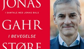 """New Labour Party leader Jonas Gahr Støre was promoting his new book on Tuesday, entitled """"I bevegelse"""" (literally, """"In movement""""). PHOTO: Cappelen Damm"""