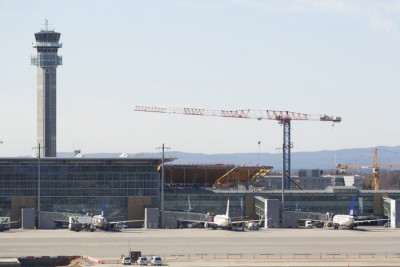 Expansion of Oslo's main airport at Gardermoen will include a new train station, in addition to a new terminal and lots more commercial space. PHOTO: Oslo Lufthavn/Espen Solli