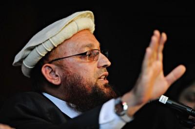 Abdul Rauf Mohammad speaking at a public gathering in Oslo in 2009. PHOTO: NTB Scanpix/Olav Urdahl/Aftenposten