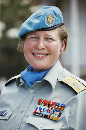 General Major Kristin Lund is now on the job as head of the UN peacekeeping forces on Cyprus. PHOTO: Forsvaret