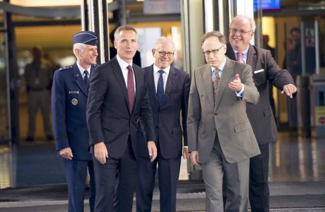 Jens Stoltenberg takes up office as NATO Secretary General
