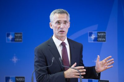 NATO Secretary General Jens Stoltenberg has revealed how he plotted to overthrow his own Norwegian Labour Party's leader 15 years ago, so that he could take over as both party leader and prime minister candidate. He succeeded and later served as Norway's premier for eight years. PHOTO: NATO