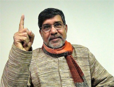 Kailash Satyarthi, who's been battling child labour for years, will share the Nobel Peace Prize with Malala Yousafsay. PHOTO: kailashsatyarthi.net