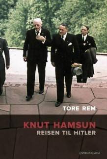 The cover of the book shows Hamsun heading into Hitler's residence. It's a unique photo credited to Ullstein Bild and Walter Frentz, the only color photo that Hamsun kept. PHOTO: CappelenDamm