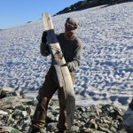 Archaeologists find 1,300-year-old ski
