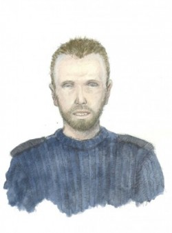 Police, in an unusual move, released this sketch of the serial rapist in 2011, after he attacked an 18-year-old woman at Oppsal in Oslo. ILLUSTRATION: Politiet