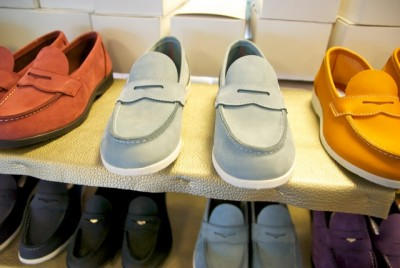 The classic Aurland shoe, which inspired the American penny loafer, has become a fashion object, selling in a wide variety of colors. PHOTO: newsinenglish.no