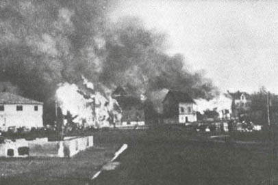 Kirkenes was only one of the cities in Northern Norway that was completely destroyed by retreating Nazi German forces. PHOTO: Wikipedia