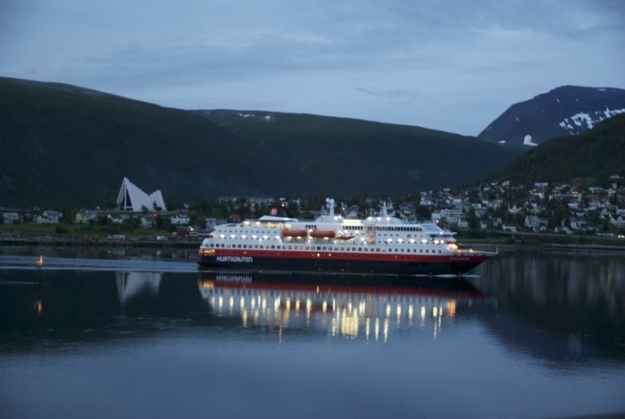 The Hurtigruten seems headed for Britsh ownership after more than a century as a crown jewel in Norway's infrastructure. Photo: newsinenglish.no