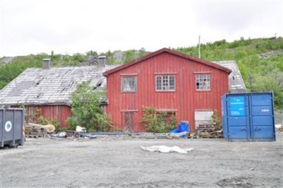 """This was one of the few buildings left standing at Bjørnevatn, east of Kirkenes. Called """"Rørbua,"""" liberated locals used it to re-establish their municipal council in Sør-Varanger, and it was to be put under formal historical preservation orders on Saturday. PHOTO: Sør-Varanger Kommune/Susanne Wasa Hagen"""