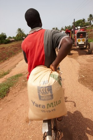 Norwegian fertilizer company Yara International does business in countries all over the world, and has gotten in trouble over its operations in Libya, India and Russia. PHOTO: Yara
