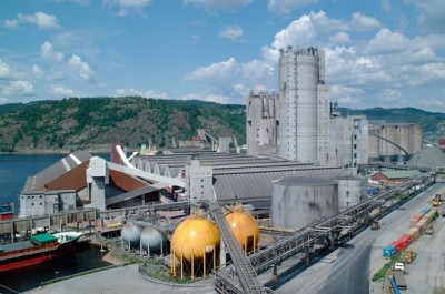 Yara plans to greatly expand production capacity at its plant in Porsgrunn, about a two-hour drive southwest of Oslo. PHOTO: Yara International