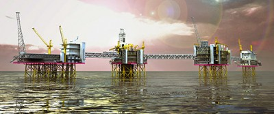 The Johan Sverdrup field is considered the new great hope for job creation in Norway's suddenly beleaguered oil industry. ILLUSTRATION: Statoil