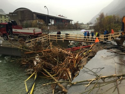 Flood damage like this mess in Otta last year is expected to become much more common in the years ahead. Last week's flooding in southern Norway spurred tens of millions of kroner in insurance claims. PHOTO: Statsministerens kontor