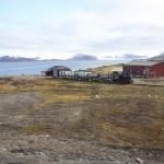 Forskningssamfunnet Ny-Ålesund, verdens nordligste bosetting. Foto: Trond Viken, Nærings- og fiskeridepartementet.